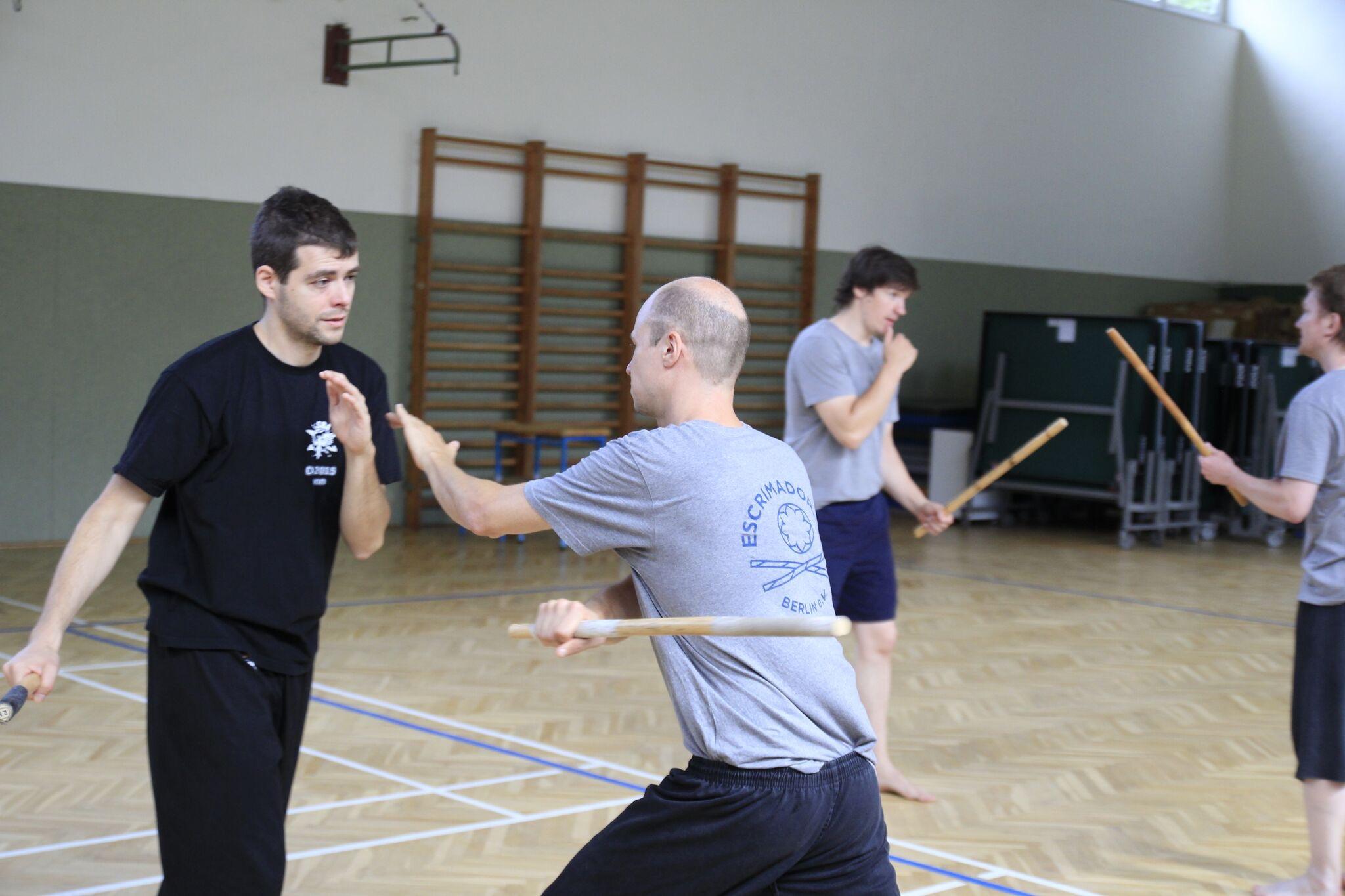 Einzelstock-Training