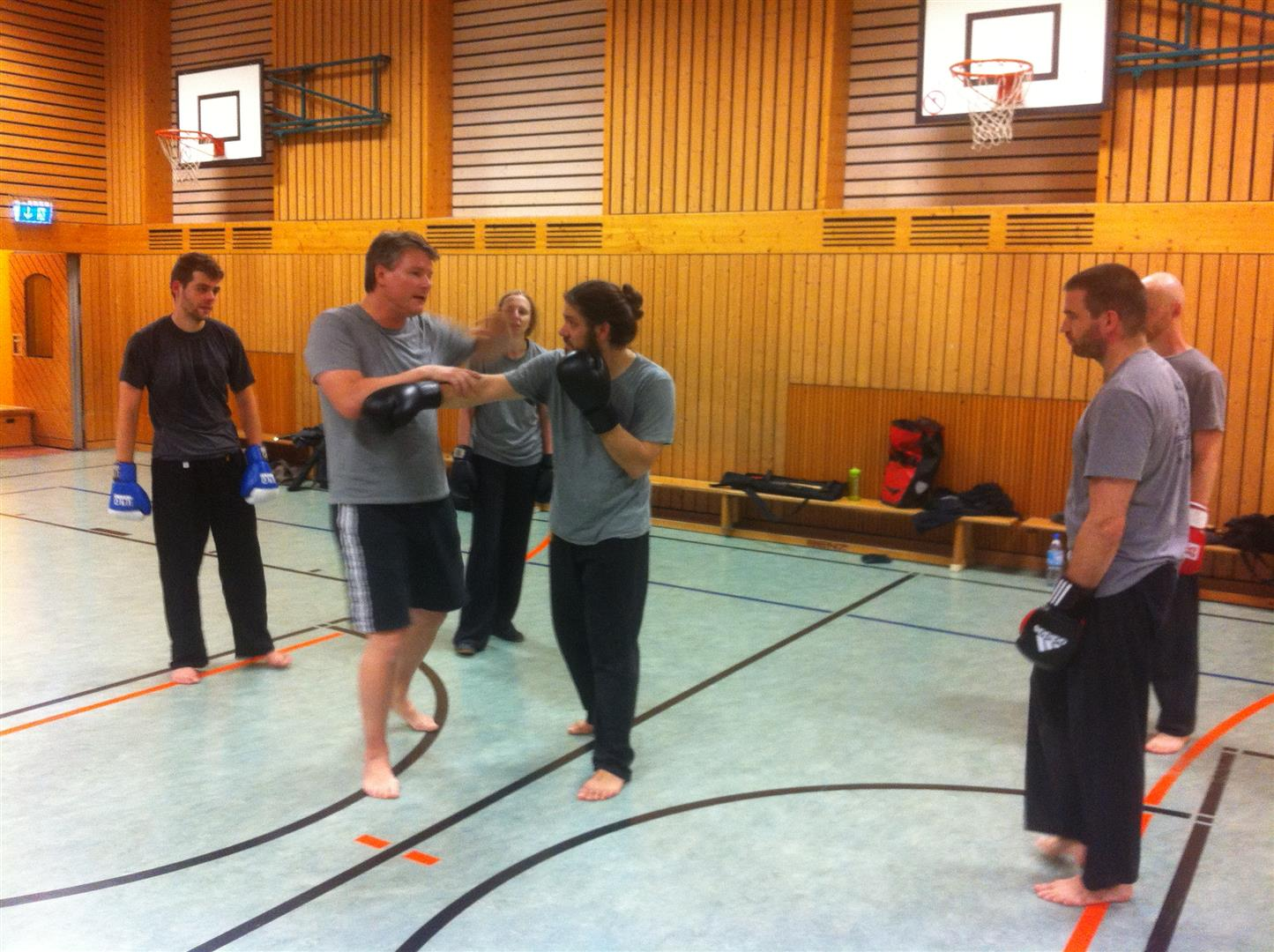 Kampfkunst mit freier Hand