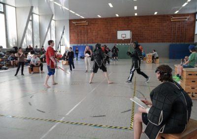 Zwei Einzelstock-Wettkämpfer bei Deutscher Meisterschaft