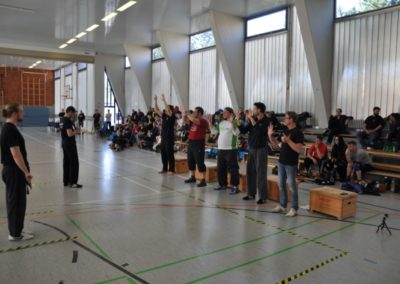 Abschluss bei Deutscher Meisterschaft