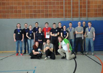 Gruppenfoto bei Deutscher Meisterschaft