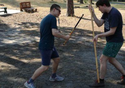 Sommercamp: Doppelstock gegen Langstock