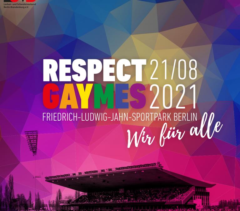 Stockkampf bei den Respect Gaymes 2021
